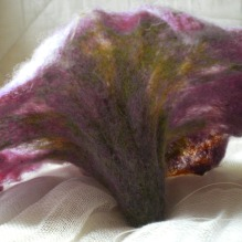 cobweb felted flower -wishlist-
