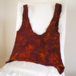felted top -think spring-