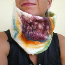 felted neck warmer -winter-