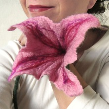 felted flower -Vagelis-